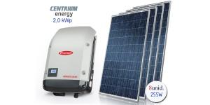 Gerador de Energia Fotovoltaico de 2,00 kWp