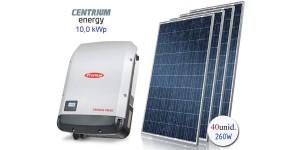 Gerador de Energia Fotovoltaico de 10,0 kWp
