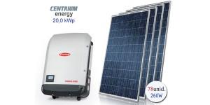 Gerador de Energia Fotovoltaico de 20,0 kWp