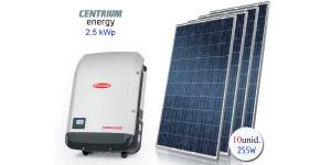 Gerador de Energia Fotovoltaico de 2,5 kWp