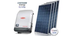 Gerador de Energia Fotovoltaico de 8,2 kWp